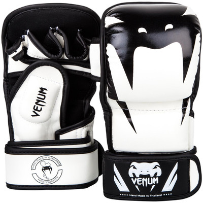 Venum Impact MMA Sparring Gloves White/Black