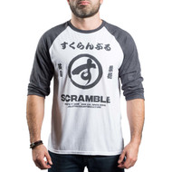Scramble Brush Logo Raglan T-Shirt