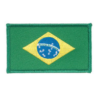 Century Brazilian Flag Patch