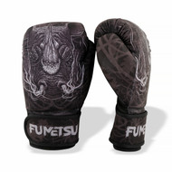 Fumetsu Rampage Washable Boxing Gloves Black/Grey