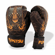 Fumetsu Rampage Kids Washable Boxing Gloves Black/Orange