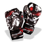 PunchTown Oni Battle Washable Boxing Gloves