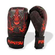Fumetsu Rampage Kids Washable Boxing Gloves Black/Red