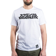 Scramble x 100 Athletic T-Shirt White