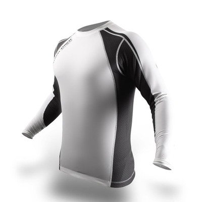 PunchTown Classic Ice Long Sleeve Rash Guard