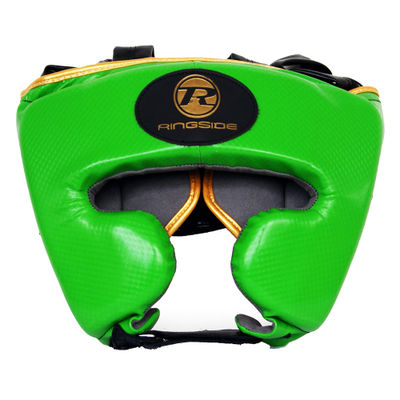 Ringside Pro Fitness Head Guard Green/Gold