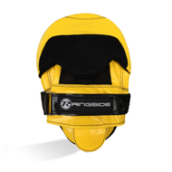 Ringside PU Focus Mitts Yellow/Black