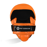 Ringside PU Focus Mitts Orange/Black