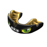 Opro Power Fit Aggression Jaws Mouthguard Black/Gold/Green