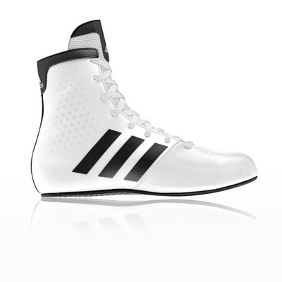 Adidas KO Legends Kids Boxing Boots White/Black