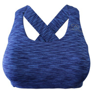 Clinch Gear Multi-Sport Racerback Sports Bra Blue