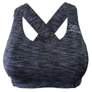Clinch Gear Multi-Sport Racerback Sports Bra Grey