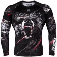 Venum Grizzli Long Sleeve Rash Guard