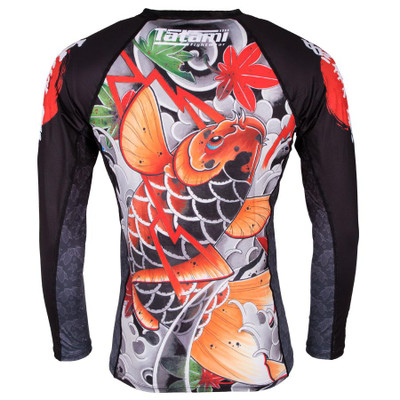Tatami Fightwear Maple Koi Long Sleeve Rash Guard