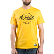 Scramble Quality Kimonos T-Shirt Yellow