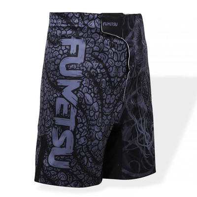 Fumetsu Kids Rampage Fight Shorts Black/Grey