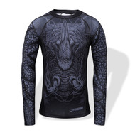 Fumetsu Rampage LS Rash Guard Black/Grey