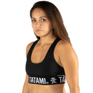 Tatami Fightwear Ladies Black Minimal Bra