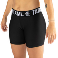 Tatami Fightwear Ladies Black Minimal VT Shorts