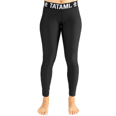Tatami Fightwear Ladies Black Minimal Spats