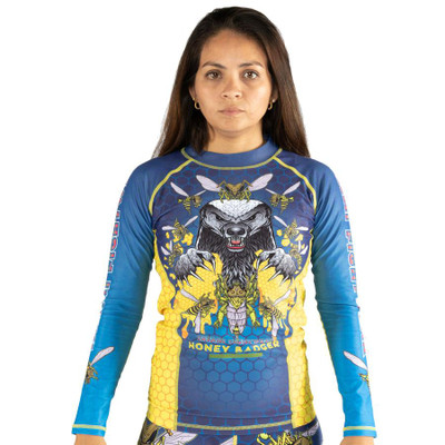 Tatami Fightwear Ladies Honey Badger V5 Rash Guard