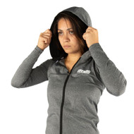 Tatami Fightwear Ladies Lightweight Hoodie Grey