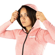 Tatami Fightwear Ladies Lightweight Hoodie Coral Pink