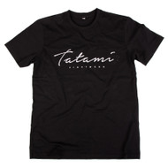 Tatami Fightwear Script T-Shirt Black