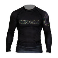 Kingz Camo Long Sleeve Rash Guard