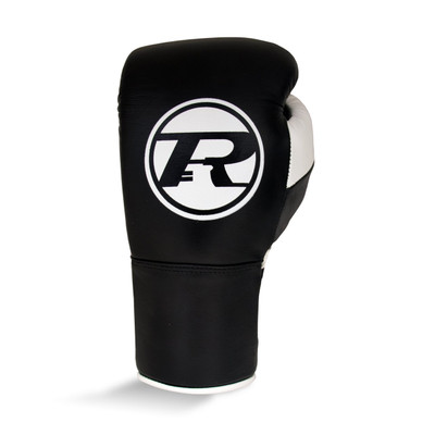 Ringside Pro Contest Boxing Gloves Black/White