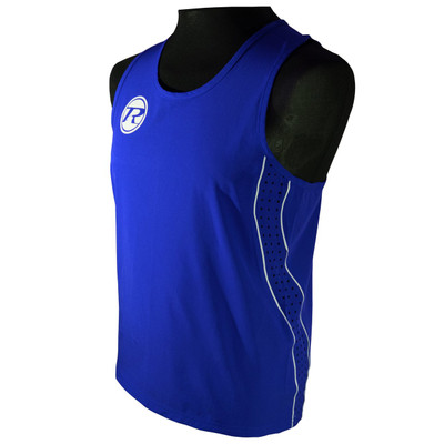 Ringside Boxing Short and Vest Set Blue