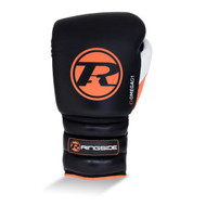 Ringside Omega Lace Boxing Gloves Black