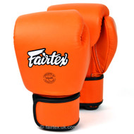 Fairtex BGV16 Leather Boxing Gloves Orange