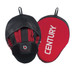 Century Brave Curved Punch Mitts Black/Red