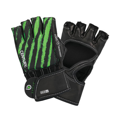 Century Brave Youth Open Palm Glove Black/Green