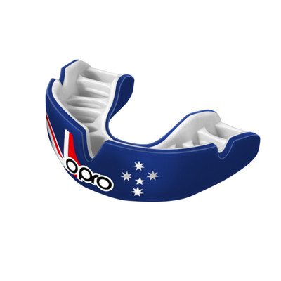 Opro Power Fit Countries Mouth Guard Australia