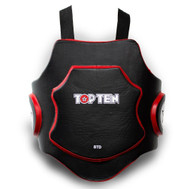 op Ten MMA Belly Protector Black/Red