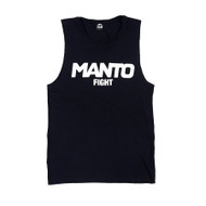 Manto Ladies Fight Tank Top Black