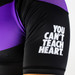 Hyperfly ProComp Supreme Short Sleeve Rash Guard Black/Purple
