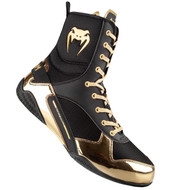 Venum Elite Boxing Shoes Black/Gold