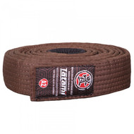 Tatami Fightwear Ranked Mens BJJ Gi Belts Brown