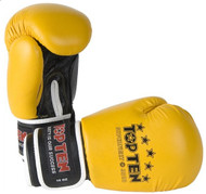 Top Ten Superfight 3000 Boxing Gloves Black/Yellow