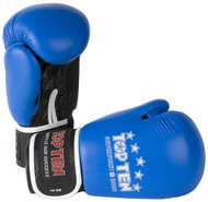 Top Ten 10oz Superfight 3000 Boxing Gloves Blue