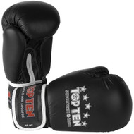 Top Ten 10oz Superfight 3000 Boxing Gloves Black