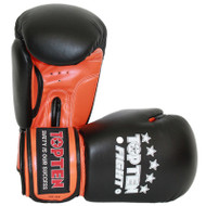 Top Ten Boxing Gloves Black/Orange