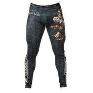 Tatami Fightwear Thinker Monkey Spats Mens Rashguard Leggings Black