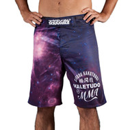 Scramble Galactica Mens MMA Fight Shorts Purple