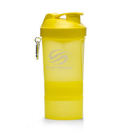 SmartShake Neon Edition Supplement Shaker Yellow