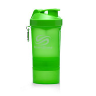 SmartShake Neon Edition Supplement Shaker Green