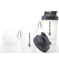 SmartShake V2 Black Edition Supplement Shaker Clear/Black